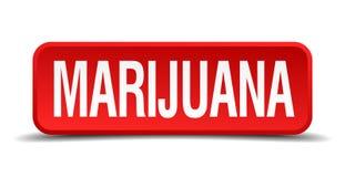 bottone della marijuana illustrazione di stock