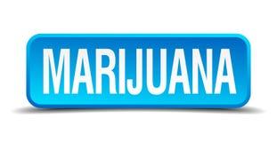 bottone della marijuana royalty illustrazione gratis