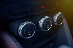 Bottone di aero-raggiro dell'automobile Immagini Stock Libere da Diritti