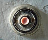 Bottone di Bell sulla parete Immagine Stock