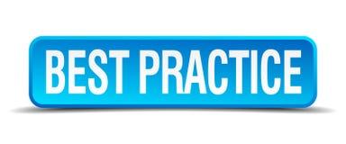 bottone di best practice Illustrazione di Stock