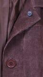 Bottone di cappotto immagine stock libera da diritti
