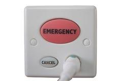 Bottone di emergenza dell'ospedale fotografia stock libera da diritti