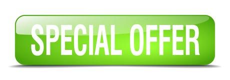 Bottone di offerta speciale royalty illustrazione gratis