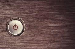 Bottone di potere Fotografia Stock Libera da Diritti