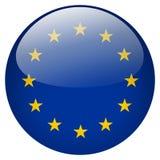 Bottone di UE Immagini Stock Libere da Diritti