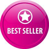 Bottone di web del best-seller Fotografie Stock Libere da Diritti