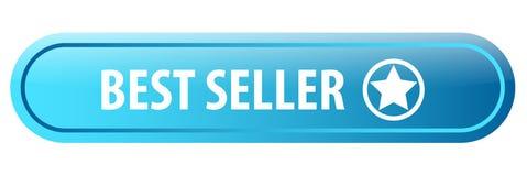 Bottone di web del best-seller Immagine Stock Libera da Diritti