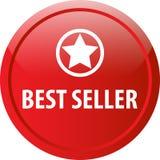 Bottone di web del best-seller Immagini Stock