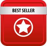 Bottone di web del best-seller Immagini Stock Libere da Diritti