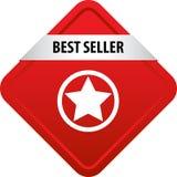 Bottone di web del best-seller Immagine Stock