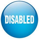 Bottone disabile illustrazione vettoriale