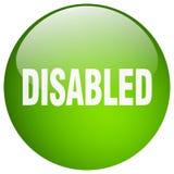 Bottone disabile illustrazione di stock