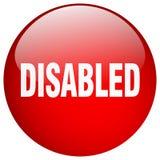 Bottone disabile royalty illustrazione gratis