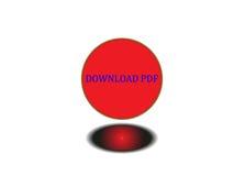 Bottone pdf di download Fotografie Stock Libere da Diritti