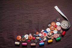 Bottone per l'indumento Immagini Stock