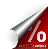 Bottone rosso del buono Immagini Stock Libere da Diritti