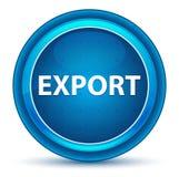 Bottone rotondo blu del bulbo oculare dell'esportazione illustrazione di stock