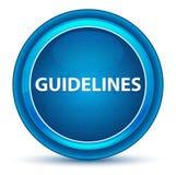 Bottone rotondo blu del bulbo oculare delle linee guida royalty illustrazione gratis