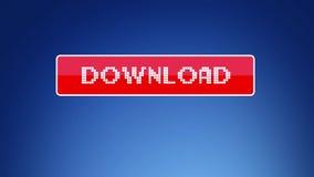 Bottone virtuale di download royalty illustrazione gratis