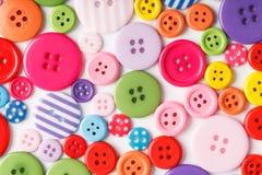 Bottoni Fotografia Stock