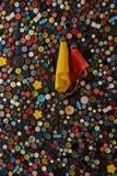 Bottoni Fotografia Stock Libera da Diritti