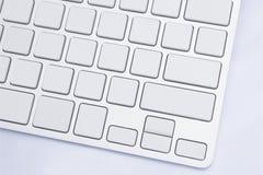 Bottoni in bianco della tastiera Fotografia Stock