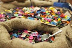 Bottoni colorati Immagine Stock Libera da Diritti