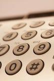 Bottoni del telefono Immagine Stock