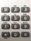 Bottoni del telefono Fotografia Stock Libera da Diritti