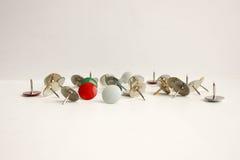 Bottoni della cancelleria Foto per la vostra progettazione Fotografie Stock Libere da Diritti