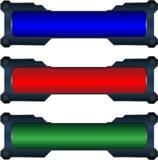 bottoni di Ciao-tecnologia Immagini Stock Libere da Diritti