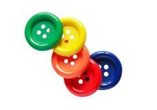 Bottoni di colore Immagini Stock Libere da Diritti