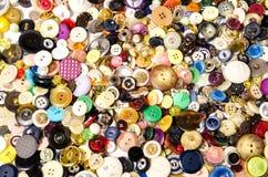 Bottoni di cucito Immagine Stock