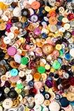 Bottoni di cucito Immagine Stock Libera da Diritti
