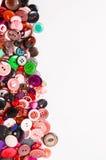 Bottoni di cucito con spazio per testo Immagine Stock Libera da Diritti