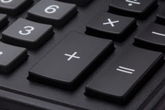 Bottoni di gray della tastiera del calcolatore Fotografie Stock