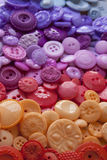 Bottoni di plastica del mestiere Fotografia Stock Libera da Diritti
