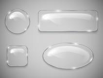 Bottoni di vetro Immagini Stock Libere da Diritti