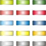 Bottoni di web Fotografia Stock Libera da Diritti