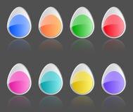 Bottoni di Pasqua Fotografia Stock Libera da Diritti