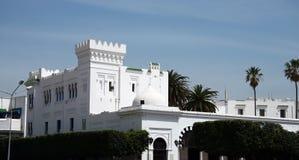 bou城堡说sidi 免版税图库摄影
