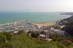 bou сказало sidi Тунис Стоковое Фото