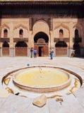 Bou Inania马德拉斯在Fes,摩洛哥 免版税库存图片