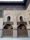 Bou Inania Madrasa σε Fes, Μαρόκο Στοκ εικόνες με δικαίωμα ελεύθερης χρήσης
