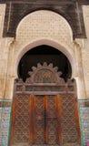 Bou Inania Madrasa в старом medina Fes, Марокко Стоковая Фотография