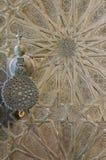 Bou Inania Madrasa, известный пример архитектуры Maranid и популярного туристского визирования, Fes, Марокко, Северной Африки Стоковые Фотографии RF