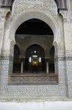 Bou Inania Madrasa Zdjęcie Royalty Free