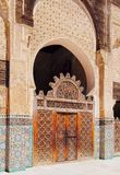 The Bou Inania Madrasa in Fes, Morocco Stock Photography
