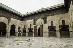 Bou Inania Madrasa Royalty Free Stock Photo
